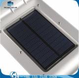 Ce RoHS Standard 4V Solar Panel Mention Sensor Solar Garden Wall LED Lamp