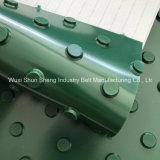 Banda transportadora superior punteada redonda antideslizante del PVC de China