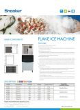 Máquina 1500 W, máquina de hielo modelo de la escama del uso de Commerical de la potencia del billar Sk-033 de hielo, fabricante de hielo, máquina de hacer hielo