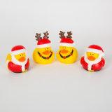 Pato de Navidad en forma de vinilo juguete chillón animal doméstico de perro de juguete