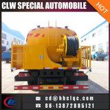 Dongfeng 10t 12t 하수구 흡입 트럭 고압 하수구 청소 트럭