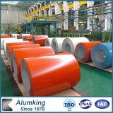 Bobina di alluminio preverniciata bobina di alluminio verniciata colore impressa