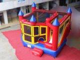 スライドとコンボ1つの膨脹可能な跳躍の城に付きモジュラー5つ