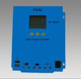 (Hm-1260) Guangzhou Controlemechanisme van de Last van het Scherm van de Fabriek 12V/24V60A PWM LCD het Zonne