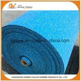 Coloridos Azulejos de caucho EPDM los rodillos de goma pisos para Gimnasio