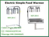 最高と評価された商業食糧熱ランプの二重球根のカウンタートップのビュッフェのファースト・フード店街のレストラン
