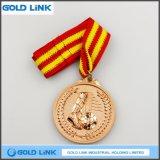 カスタムフットボールのサッカーメダル金属の硬貨賞のトロフィのスポーツメダル