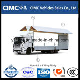 Camion del corpo dell'ala della Hyundai Xcient 6X4 30 tonnellate