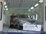 Wld8400 ce, four à base d'eau de peinture de véhicule de véhicule de TUV