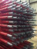 빨간 그려진 표면 완료 (TPCTRSS011)를 가진 Ringlock 비계 표준 수직