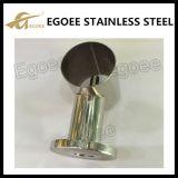 Support de main courante en acier inoxydable Bracelet en verre Clip de verre