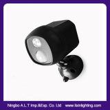 Nuevos productos en la pared de alta potencia LED de Batería la lámpara de Jardín del sensor de movimiento con impermeable y resistente al agua para el exterior