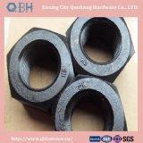 Noix Hex lourdes (ASTM planté par zinc jaune A194 2h)