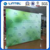 展示会の立場の写真ブースの背景幕の旗の表示(LT-24Q1)