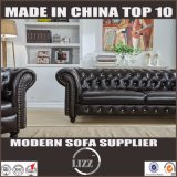 Chesterfield Design moderne ensemble canapé en cuir véritable