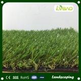 Precios artificiales de la hierba del césped del jardín del surtidor de China que ajardinan para el jardín