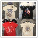 Commerce de gros diamants Chaud 100% Coton T-shirts pour les enfants