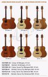 別の材料およびサイズのAiersiのブランドの合板のアコースティックギター