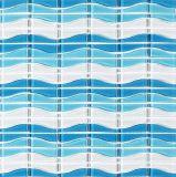 Color azul piscina mosaico de vidrio Material de construcción
