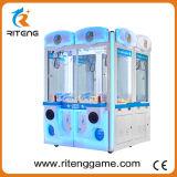 Máquina de interior de la grúa de la garra del doble del juego para la venta