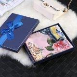 Los peces y flores en Rosa Moda Bufanda de regalo