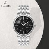 OEM моды водонепроницаемые кварцевые часы мужские часы 72123 из нержавеющей стали