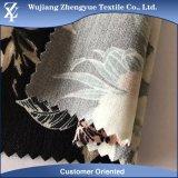 Tela elástico impresa tejida del Spandex de nylon del rayón para los pantalones de las mujeres
