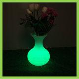 Vaso LED iluminado de controle remoto Flower Pot