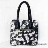 Borse all'ingrosso della signora Flower Printing PU Leather (LY060280)