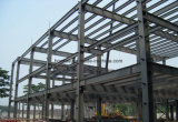 Taller porta de la estructura de acero del marco