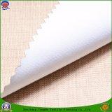 Textil tejido Tela Poli Llama impermeable Retardante Coated cortina del apagón de la tela por la ventana