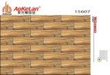 150X600mm glasig-glänzende hölzerne keramische Fußboden-Fliese für Wohnzimmer (15605)