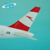 Aeroplano B767-300 ABS plástico Boeing 27cm regalo promocional modelo de avión