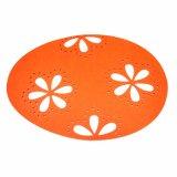 feltro promozionale Placemat di 5mm & di 3mm 100% per il ripiano del tavolo e le decorazioni domestiche