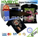 Machine d'impression à plat de T-shirt d'imprimante de Digitals de la taille A3 avec l'effet coloré