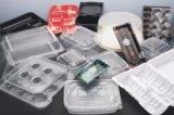 Contaiers plástico que faz a máquina com o empilhador para o material do picosegundo (HSC-510570C)