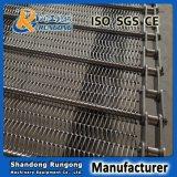304, banda transportadora del acoplamiento de alambre de acero inoxidable 316