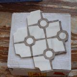 El azulejo de suelo de mármol de piedra chino del material de construcción pulió y esmaltó