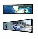 38 pouces bus Ultra Large écran LCD du système d'infos Acheter de matériel publicitaire du panneau