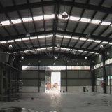 Almacén ligero prefabricado de la estructura de acero para el almacenaje