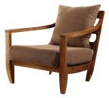 직물을%s 가진 현대 가정 거실 의자