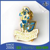 Emblema feito sob encomenda do metal do presente relativo à promoção para a lembrança