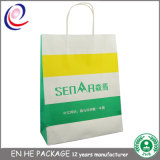Kundenspezifischer dekorativer Kraftpapier-Geschenk-Papierbeutel-verpackenbeutel