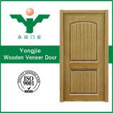 Morden e porta de madeira interior do folheado da qualidade