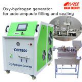Generatore ad ossigeno e gas dell'idrogeno di elettrolisi di Hho di tecnologia del combustibile dell'acqua