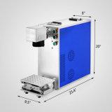 Высокая скорость 20Вт портативный волокна лазерной маркировки машины для металлических и Non-Metal