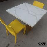 大理石カラー食堂の家具の水晶石造りのダイニングテーブル(171114)