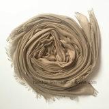 Sciarpa tinta normale sottile molle unisex del cachemire (H7239)
