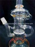 narguilé en verre de Shisha de conduite d'eau de la qualité a-83 pour le fumage