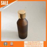 Bouchon de bouteille en verre à l'huile d'olive à chaud pour l'emballage de soins de la peau
